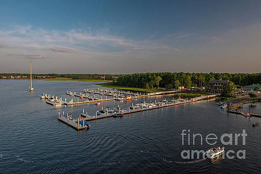 Wando River Marina by Dale Powell