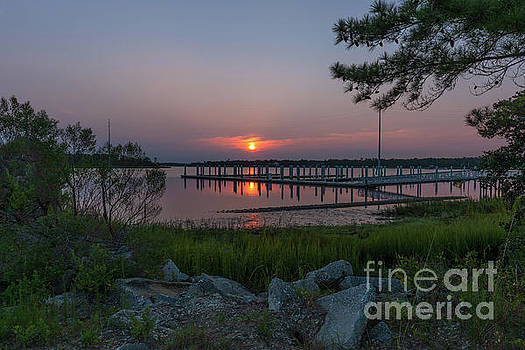 Dale Powell - Wando River Marina Sunrise