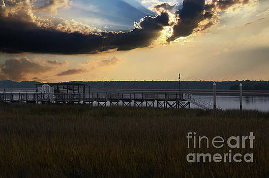Wando River Sky by Dale Powell