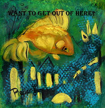 Want to Get Out of Here by Betty Pieper