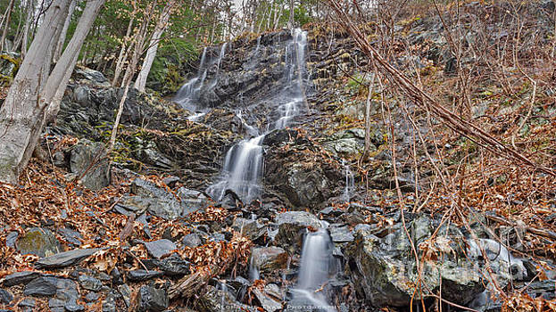 Wantastiquet Trail Falls by Along The Trail
