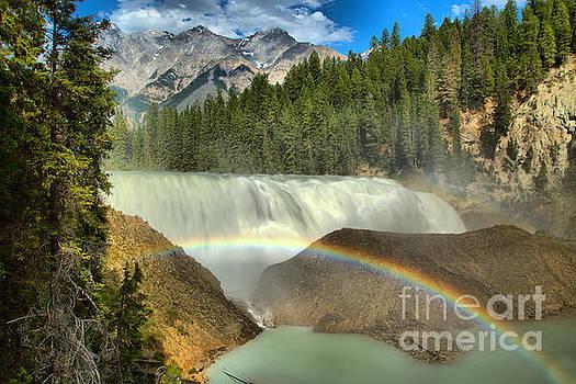 Adam Jewell - Wapta Falls Rainbow