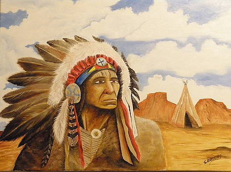 War Chief by Ron Sargent