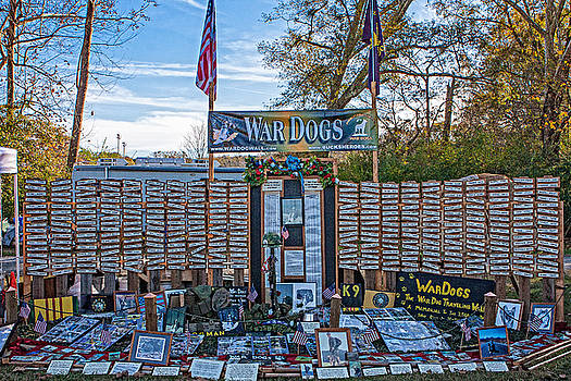 War Dog Memorial  by Gerald Adams