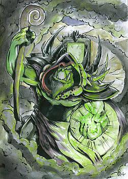 Warlock by Bartek Blaszczec