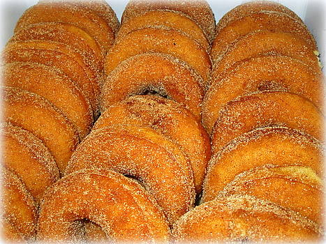 Warm Cider Donuts by Suzanne DeGeorge