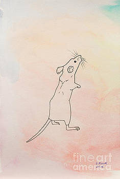 Warm Mouse by Stefanie Forck