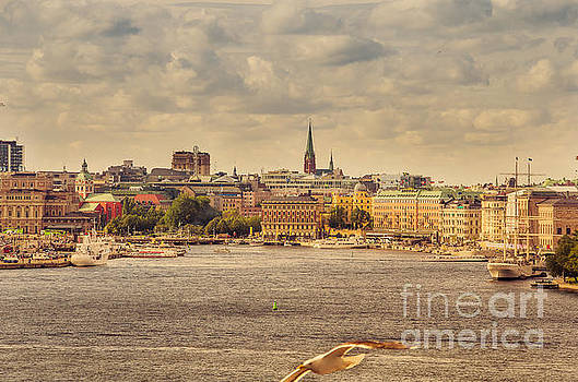 RicardMN Photography - Warm Stockholm View