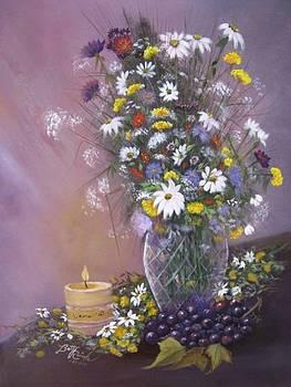 Warm Wildflowers by Betty Reineke