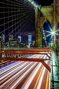 Warp Speed Out Of Manhattan by Az Jackson