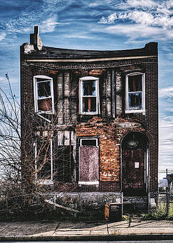 Warped - Abandoned House In North St. Louis by Dylan Murphy