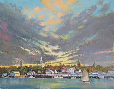 Warren Evening Sky by Christopher Roe