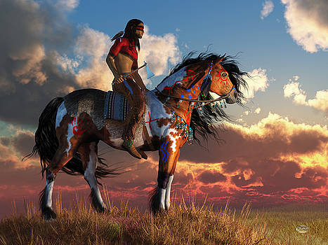 Warrior and War Horse by Daniel Eskridge