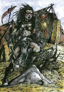 Warrior by Bartek Blaszczec
