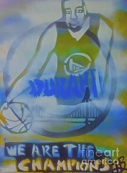 Warrior Champion Kevin Durant by Tony B Conscious
