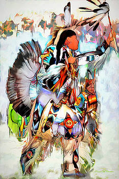 Warrior Dance by Pennie  McCracken