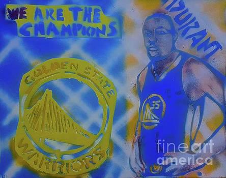 WARRIOR Kevin Durant by Tony B Conscious