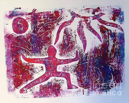 Warrior one  by Corina Stupu Thomas