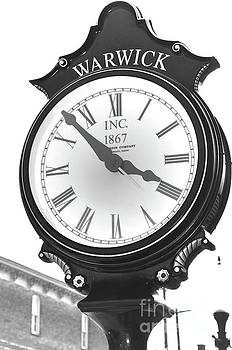Warwick Train Clock  by Robert Meanor