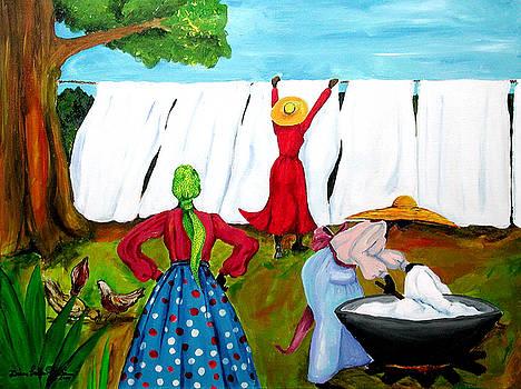 Wash Day by Diane Britton Dunham