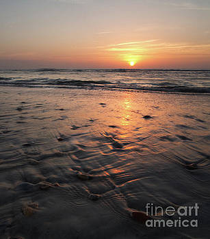 Wash, Rinse, Repeat -- Sunrise over St Augustine Beach, Florida by Matt Tilghman