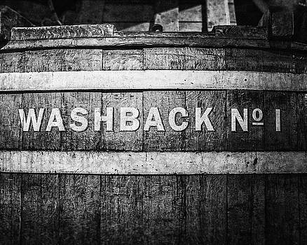 Washback No. 1 in Black and White by Lisa Russo