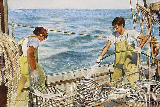 Washing Fish by Karol Wyckoff