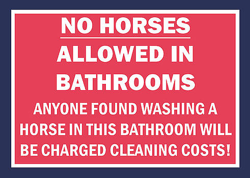 Washing Horses by Pat Turner