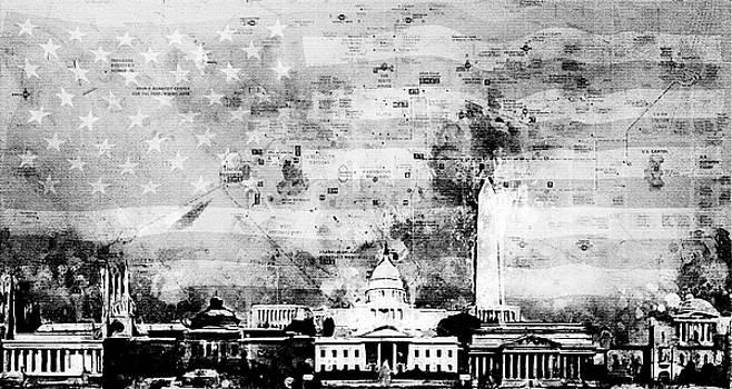 Washington Collage by Arthur Charpentier