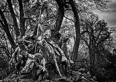 Val Black Russian Tourchin - Washington DC Monument Detail No 10
