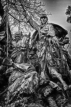 Val Black Russian Tourchin - Washington DC Monument Detail No 12