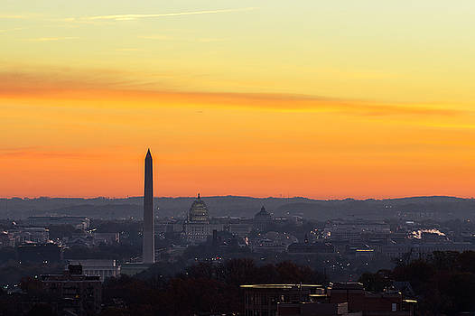 Washington D.C. Sunrise by Mary Pat Collins