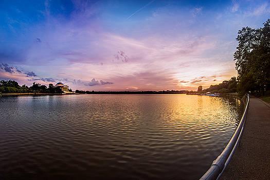 Chris Bordeleau - Washington D.C Tidal Basin Sunset