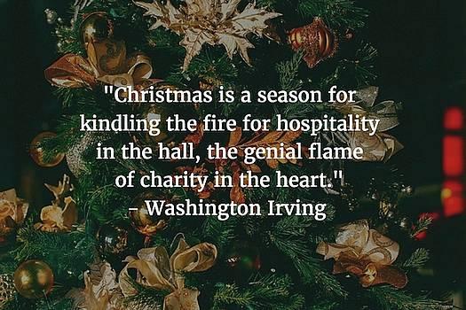 Matt Create - Washington Irving Quote