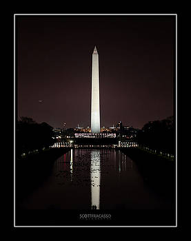 Washington Monument 1 by Scott Fracasso