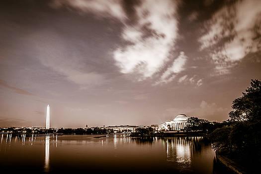Chris Bordeleau - Washington Monument and Thomas Jefferson Memorial