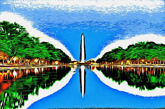 Washington Monument by Arthur Charpentier