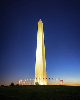 Washington Monument DC by Scott Masterton