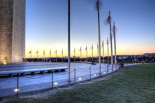 John King - Washington Monument Looking West