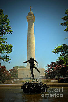 Jost Houk - Washington Monument of Mount Vernon Place