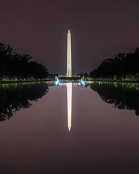 Chris Bordeleau - Washington Monument   Reflection