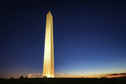 Washington Monument by Scott Masterton