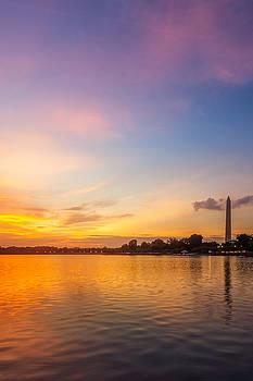 Chris Bordeleau - Washington Monument Sunset