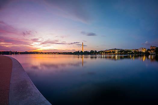 Chris Bordeleau - Washington Monument Twilight