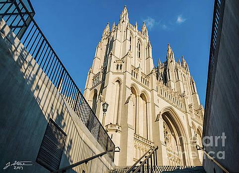 Washington National Cathedral by Jeffrey Stone