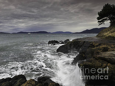 Windswept waves by Tim Hauf