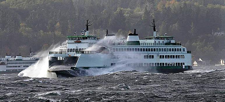 Jack Pumphrey -  Ferry Cathlamet Puget Sound