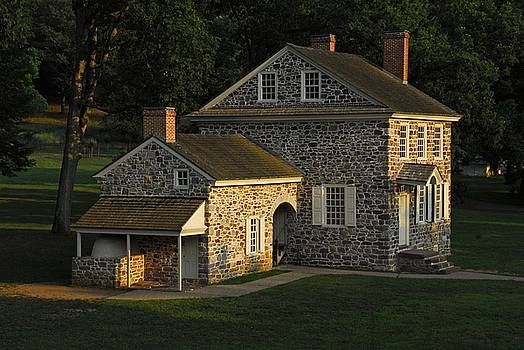 Washington's Headquarters at Valley Forge by Cindy Manero
