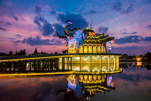 Wat Ban Rai, The Elephant Temple by Lee Craker