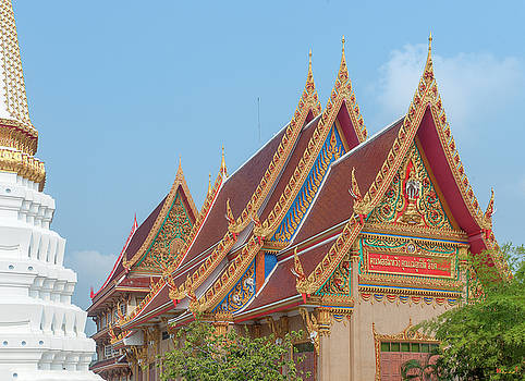 Wat Kaeo Phaithun Hall Gables DTHB1858 by Gerry Gantt